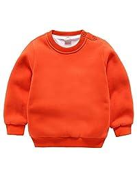 Happy Cherry Kids Sweatshirt Long Sleeve Top Toddler Baby Boy Little Fleece Pullover