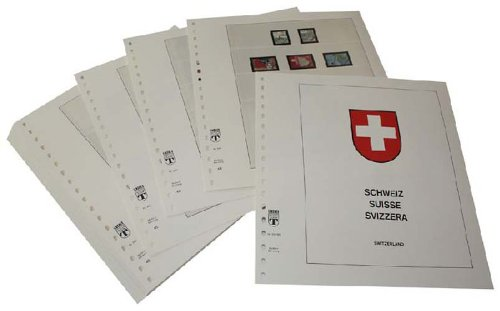 Lindner-T Supplement Switzerland Stamp Book 2018 Stamps, Special Stamps and Pro Patria