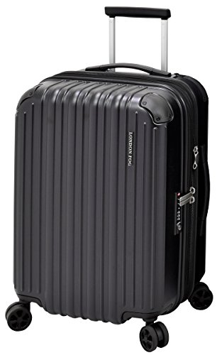 London Fog Heathrow 21'' Expandable Spinner Carry-on, Black by London Fog