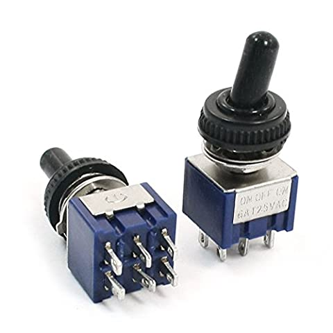 Uxcell Toggle Switch (2 Piece)
