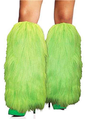 Furry Leg Warmers Costume Accessory -