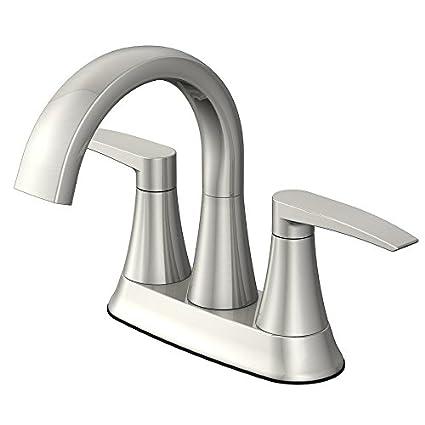 JACUZZI Lyndsay 2-Handle 4-in Centerset WaterSense Bathroom Sink ...