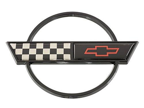 - 1991-1996 Corvette Gas Door Emblem exc Special Edition