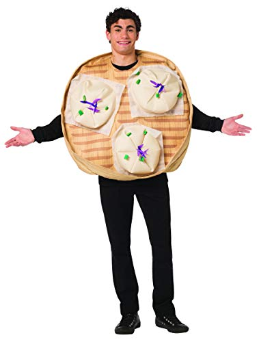 Rasta Imposta Steamed Buns Costume Chinese Funny Food Adult Unisex One Size
