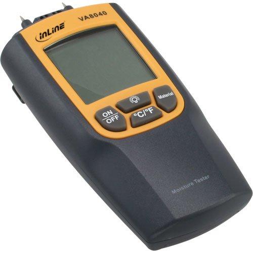 InLine - Igrometro digitale per la misurazione dei valori dell'umidità tra 0.0% ~ 95.7%, -10 ~ +50 °C -10 ~ +50 °C 43113