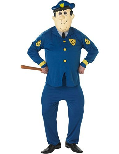 Adults Officer Dibble Top Cat Cartoon Costume - Standard or XL