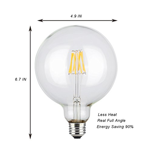 From Usa ★ Crlight 8w Dimmable Edison Style Antique Led