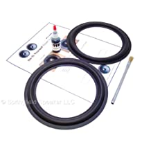 "Energy Butyl Rubber 8"" Speaker Surround Repair Kit - EMS2s, EMS3s - 2 Piece, 8 Inch"