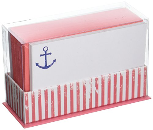 Weathered Anchor Stripe Flat Notes ()
