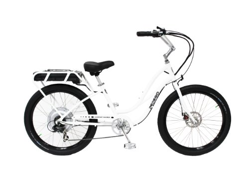 Pedego Interceptor (White, Stepthru) For Sale