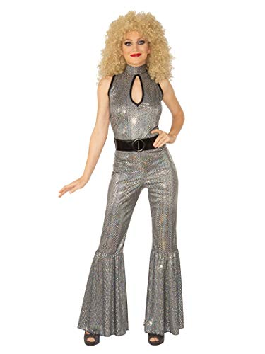 Disco Halloween Costumes For Couples (Rubie's Women's Opus Collection Dancing Through Decades Adult Disco Diva, Multi Color,)
