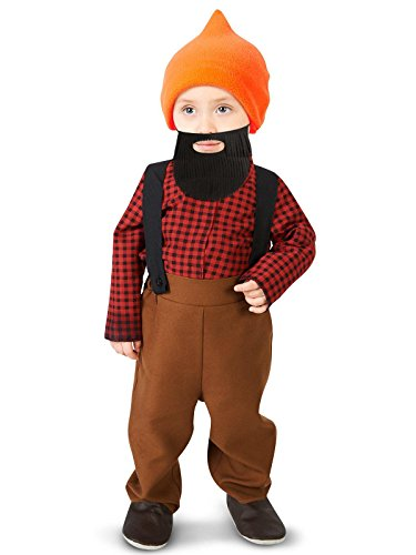 Zhangjiagang Leadtex Clothing Co, L Bearded Baby Lumberjack Infant Costume 12-18M