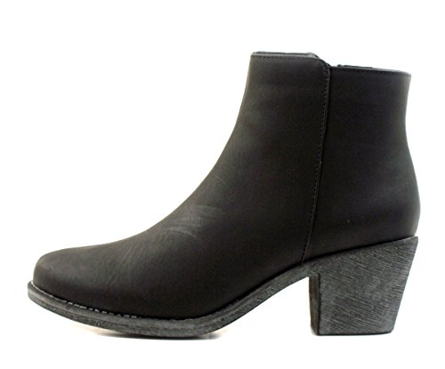 Chanceux Womens Bottine Vintage-noir