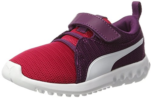 Puma Unisex-Kinder Carson 2 V PS Sneaker Pink (Love Potion-White)