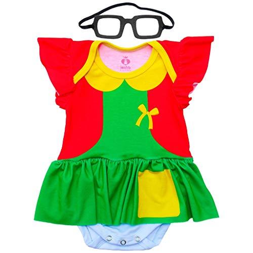 Body Bebê Fantasia Chiquinha - Isabb