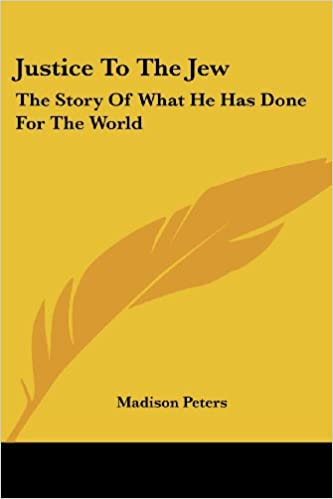 justice to the jew the story of what he has done for the world