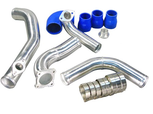 Intercooler Piping Kit For 95-99 Mitsubishi Eclipse Talon 2G DSM TD05 Turbo (98 97 Stock Eclipse 99)