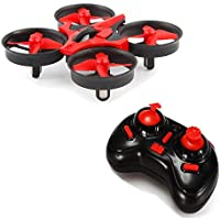 Mini RC Drone,Neecooler UFO Quadcopter Drone RTF Helicopter 2.4G 4CH 6Axis Gyro with LED Lights and Remote Control