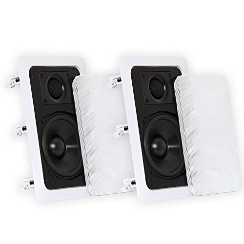 Theater Solutions CS5W In-Wall Speakers, White