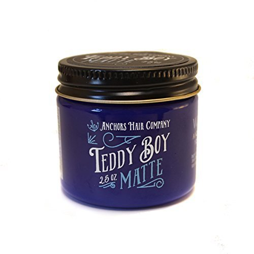 Anchors Hair Company Teddy Boy Matte Water Based Dry Matte Wax 2.5oz (Based Company Who compare prices)
