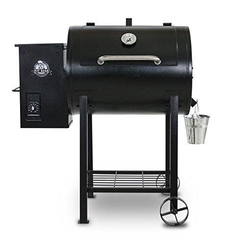 Pit Boss 71700FB Pellet Grill with Flame Broiler, 700 sq. in. by Pit Boss