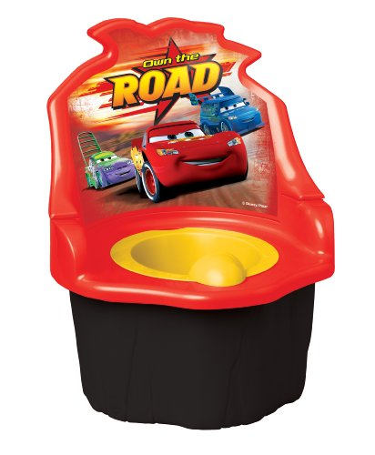 Disney  Pixar Car 3 in 1 Potty Trainer, Red