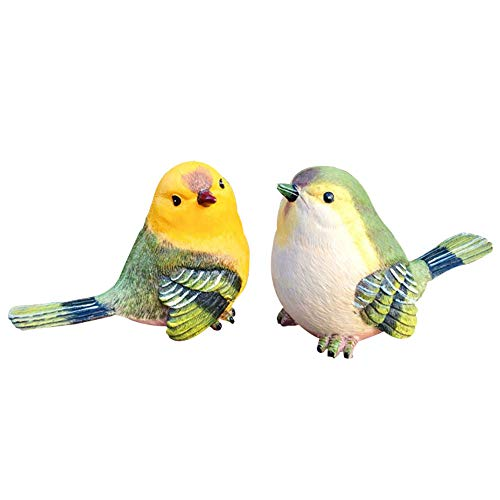 (Bird Animal Garden Statues Figurine Funny Garden D¨¦cor Outdoor Sculpture Resin Lawn Ornaments Decor - Best Indoor Outdoor Decorations for Patio Yard Office and House)