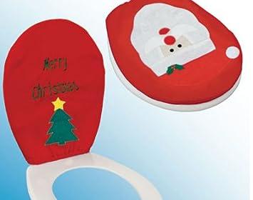 Copri Wc Babbo Natale.Copri Wc Babbo Natale
