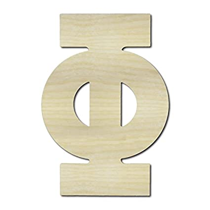 Unfinished Wooden Letters Phi 36 Tall Large Wall Wood Letters English Greek Numbers Punctuation Letters For Home Bedroom Office Wedding Party