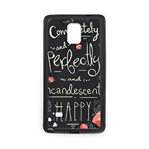 Austen Happy Samsung Galaxy Note 4 Cell Phone Case Black Exquisite gift (SA_485572)