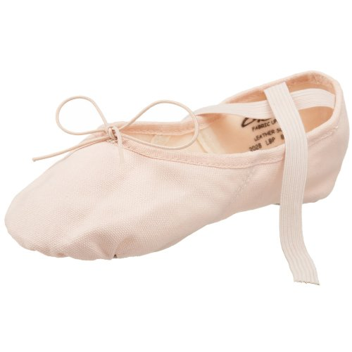 Capezio Women's Canvas Juliet Ballet Shoe,Light Ballet Pink,10 M US