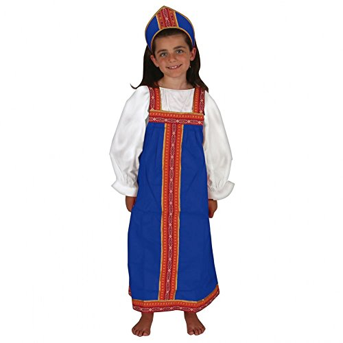 Russian Costume For Girls (Russian Girl Outfit)