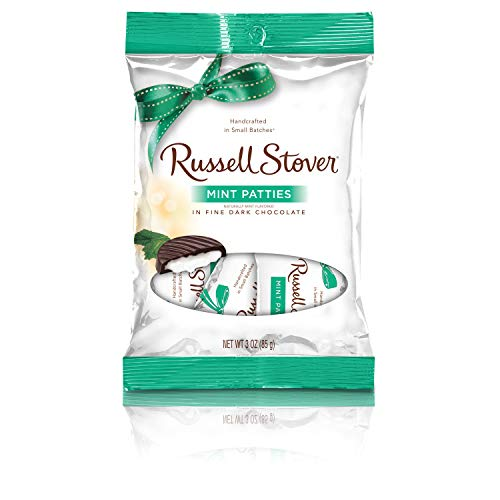(Russell Stover Mint Patties, 3 Ounce Bag, 10 Count)