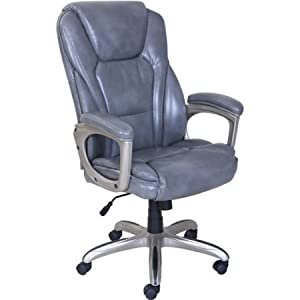 amazon com serta big tall commercial office chair with memory