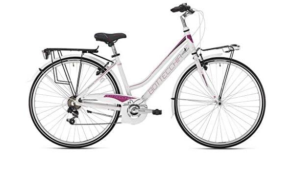 Botella para Bicicleta de Mujer 28 Dos Tubos 200 TY21 6 V Blanco-Violeta H48: Amazon.es: Deportes y aire libre