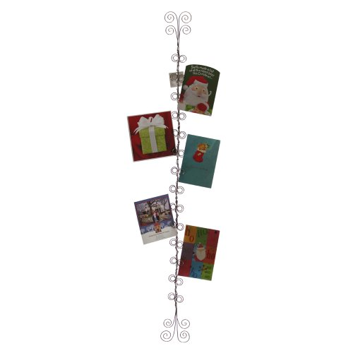 4 Foot Wire Christmas Card and Photo (Photo Holder Christmas Cards)