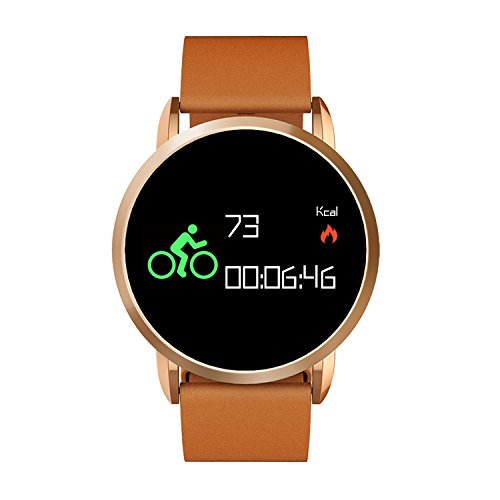 Smartwatch, Collasaro Sweatproof Smart Watch Phone with Camera and SIM Card Slot for IOS iPhone, Android Samsung HTC Sony LG Smartphones