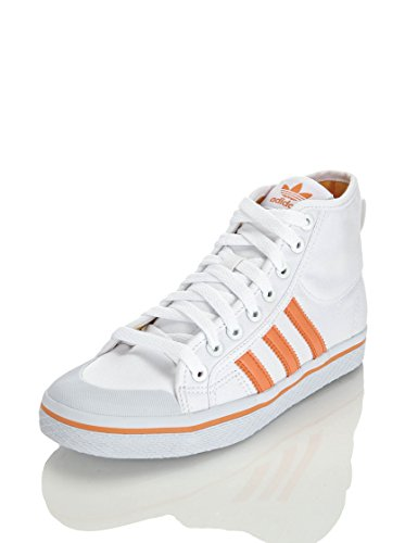 adidas Sneaker Alta Honey Stripes Mid W Bianco/Arancione EU 40