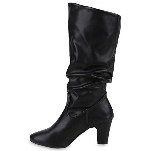 Stiefelparadies - Botas clásicas Mujer negro