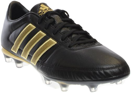 14 Shoes Ground Soccer Firm - adidas Gloro 16.1 Firm Ground Soccer Cleats, 8.0 D(M) US, Black/Metallic Gold