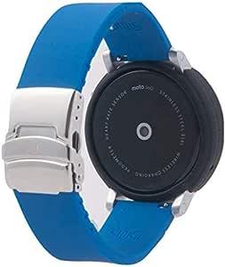 SnuG Watchband Moto360 Compatible Watch Band and Bumper Case Set 2nd Gen Moto 360 Smart Watch