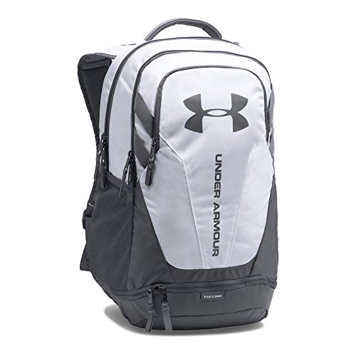 2017 Back-to-School Popular Backpacks Teens & Tweens - Under Armour Hustle 3.0 Backpack, White/Graphite