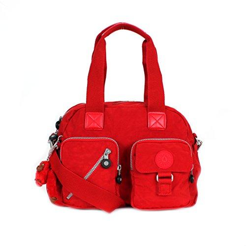 Kipling DEFEA Travel Tote Handbag - Cherry ( 13