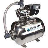 BurCam 506538SS  SW Stainless Steel Jet Pump & Tank, Ml60H 3/4 hp, 115V/230V