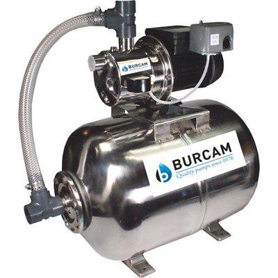 BURCAM 506538SS 3/4 HP Stainless Steel Shallow Well Jet Pump System