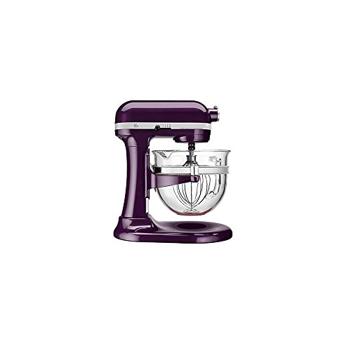 KitchenAid KF26M1QPB Pro 600 Deluxe Stand Mixer, Plum Berry, 6 Qt