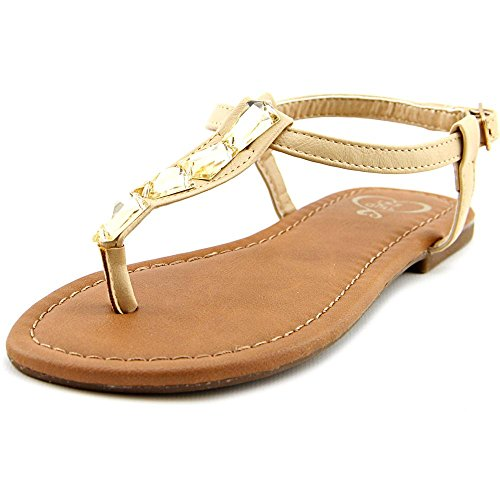 1.4.3. Girl Womens Pivari Open Toe Casual Slide Sandals Lt Taupe
