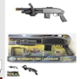 Mossberg M590 Chainsaw Spring Airsoft Shotgun 355 FPS (500 BBs included)