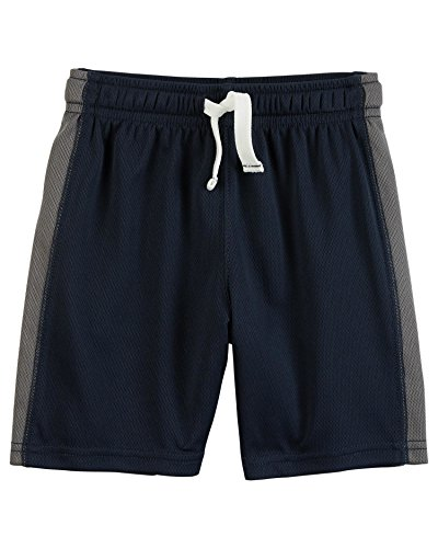 Carters Baby Boys Pull-On Mesh Shorts, Blue/Gray, 12 Months ()
