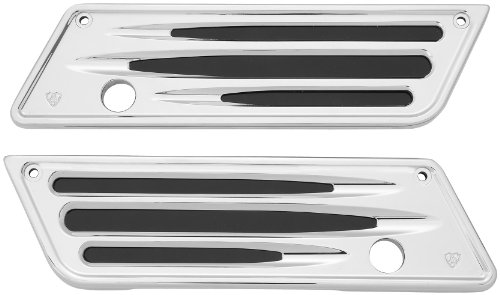 Arlen Ness 03-529 Chrome Ness-Tech Billet Saddlebag Latch Cover